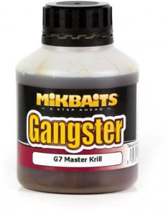 Mikbaits Booster Gangster 250ml - GSP Black Squid