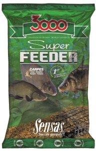 Sensas Krmítková směs 3000 Super Feeder 1kg - Kapr