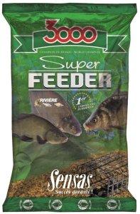 Sensas Krmítková směs 3000 Super Feeder 1kg - Řeka
