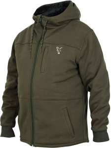 Fox Mikina Collection Sherpy Hoody Green Silver-Velikost XXL