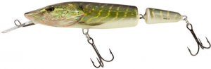 Salmo Wobler Pike Jointed Deep Runner Real Pike 13 cm 24 g