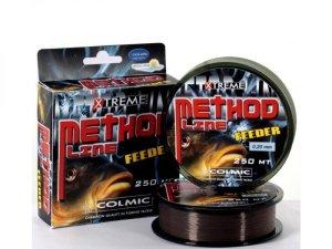 Colmic Vlasec Method Feeder Brown 250 m-Průměr 0,14 mm / Nosnost 2,5 kg