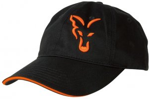 Fox Kšiltovka Black & Orange Baseball Cap