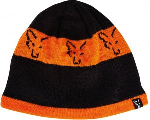 Fox Čepice Black Orange Beanie