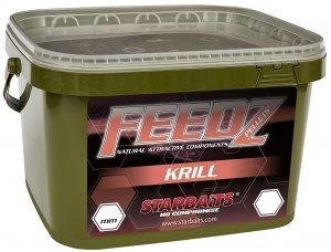Starbaits Pelety Feedz Krill - 4,5 kg 8 mm