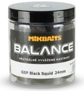 Mikbaits Boilie Balance Gangster GSP Black Squid 250 ml 20 mm