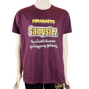 Mikbaits Tričko Gangster Burgundy - Velikost XXL