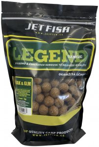 Jet Fish Boilie Legend Range Rak & GLM - 1 kg 24 mm