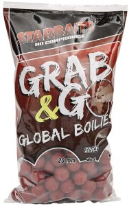Starbaits Boilie Grab & Go Global Boilies Spice 20 mm - 10 kg