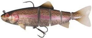 Fox Rage Gumová Nástraha Replicant Trout Jointed Super Natural Rainbow Trout-18 cm 110 g