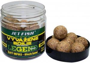 Jet Fish Vyvážené Boilie Legend Range Žlutý Impuls Ořech Javor 24 mm 250 ml