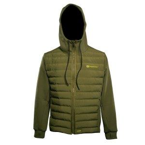RidgeMonkey Bunda APEarel Dropback Heavyweight Zip Jacket Green - L