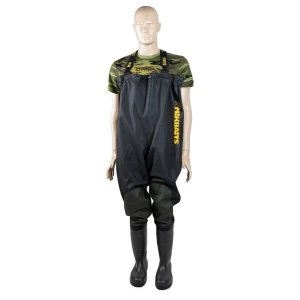 Mikbaits Brodící kalhoty Premium Black - 47