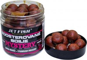 Jet Fish Boosterované Boilie Mystery Jahoda/Moruše 20 mm 250 ml