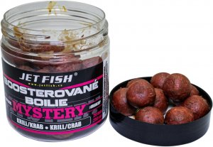Jet Fish Boosterované Boilie Mystery Krill/Krab 20 mm 250 ml
