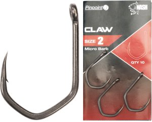Nash Háčky Pinpoint Claw Micro Barbed-Velikost 7