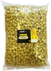 Carpway Pelety Kukuřičné Žluté S Dírou 12 mm 10 kg
