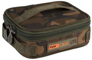 Fox Pouzdro Camolite Rigid Lead Bits Bag Compac