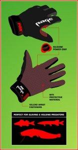 Fox Rage Rukavice Gloves-Velikost L