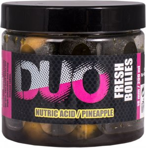 LK Baits Boilie DUO X-Tra Fresh Nutric Acid/Pineapple - 200 ml 18 mm