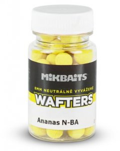 Mikbaits Mini Boilie vyvážené nástrahy Wafters 60ml - Ananas N-BA 8mm