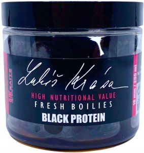 LK Baits Boilie Fresh Lukáš Krása Black Protein - 150 ml 14 mm