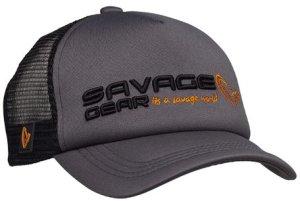 Savage Gear Kšiltovka Classic Trucker Cap Sedona Grey