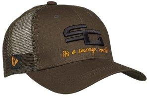 Savage Gear Kšiltovka SG4 Cap Olive Green