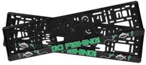 Delphin Držák SPZ 3D GoFishing! 2ks