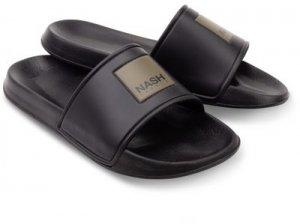 Nash Pantofle Sliders Black - 41
