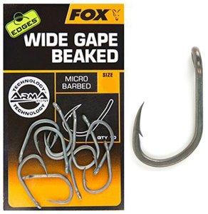 Fox Háčky Edges Wide Gape Beaked-Velikost 7