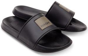 Nash Pantofle Sliders Black - 43