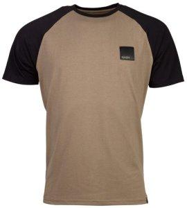 Nash Tričko Elasta-Breathe T-Shirt Black Sleeves - S