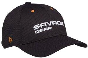 Savage Gear Kšiltovka Sports Mesh Cap Black