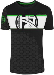 HOTSPOT DESIGN tričko Linear Zander - Velikost XXL