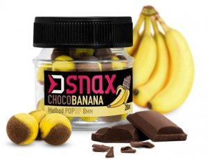 Delphin Nástraha D Snax Pop Čokoláda-Banán 20g - 8mm