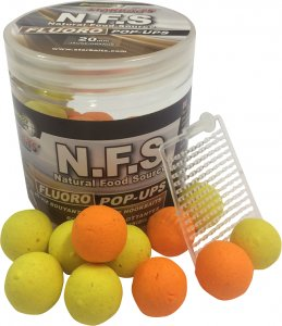 Starbaits Plovoucí Boilie Concept N.F.S Fluo - 60 g 10 mm