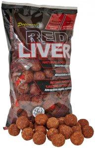 Starbaits Boilie Red Liver - 1 kg 24 mm