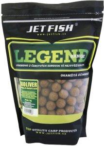 Jet Fish Boilie Legend Range Bioliver-Ananas/N-butyric - 1 kg 20 mm