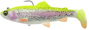 Savage Gear Gumová nástraha 4D Rattle Shad Trout Sinking Lemon Trout - 12,5cm 35g