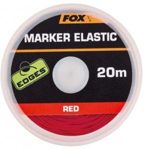Fox Označovací šňůrka Marker Elastic Red 20m
