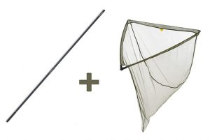 Mivardi Podběrák LevelM 90 x 90 cm + tyč Professional Twin