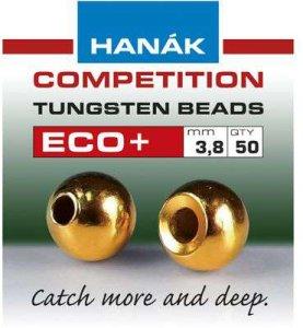 Hanák tungstenové hlavičky Eco+ zlatá 50ks průměr: 2.8mm