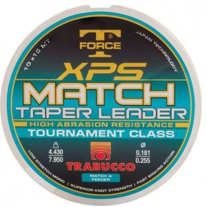 Trabucco TF XPS Match Taper Leader 0.203 - 0.327 mm/10 x 15 m