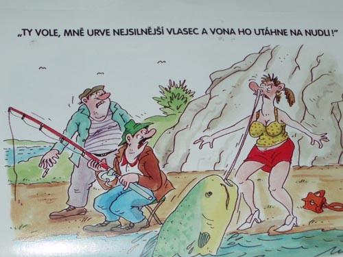 Kreslene Frky O Rybarich A Rybareni