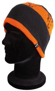 Fox Čepice Black/Orange Beanie