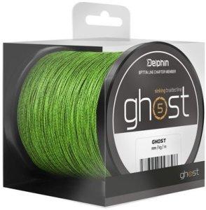 Delphin Šňůra Ghost 4+1 zelená - 0,23mm 30lbs 200m