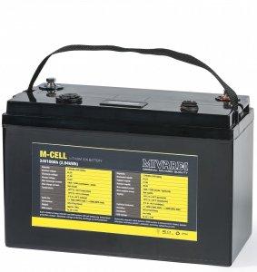 Mivardi Lithiová Baterie M-CELL 24 V 100 Ah + 20 A Nabíječka
