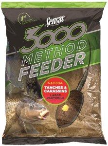 Sensas Krmení 3000 Method Feeder 1 kg-tanches carassins