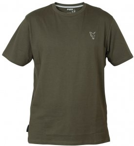 Fox Triko Collection Green Silver T Shirt-Velikost L